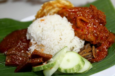 Food review on Nasi Lemak Antarabangsa